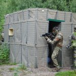 Airsofter defending structure